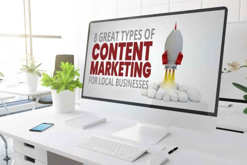 8 Content Marketing Types for Local Businesses